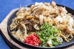 Yakisoba Japanese Noodles Royalty Free Stock Photography