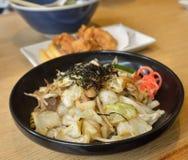 Yakisoba noodles Royalty Free Stock Photography