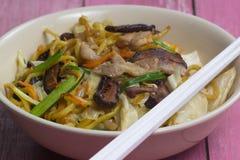 Yakisoba / Stir fry Japanese noodle Stock Photos