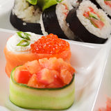 yakitori японца кухни Стоковое Изображение RF