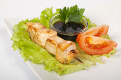 Yakitori chicken Royalty Free Stock Photography