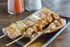 Yakitori Royalty Free Stock Photos