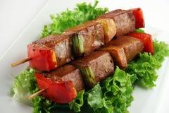 Yakitori-Schweinefleisch Lizenzfreies Stockfoto