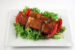 Yakitorivarkensvlees Stock Afbeeldingen