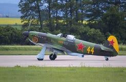Yakovlev jak-3 stock afbeelding
