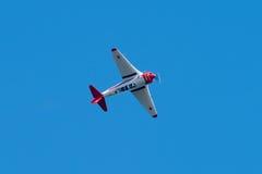 Yakovlev Yak-11 sovjetiskt utbildningsflygplan Fotografering för Bildbyråer