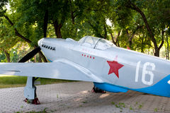 The Yakovlev Yak-3. Was a World War II Soviet fighter aircraft , 1943 Royalty Free Stock Photos