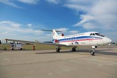 Yakovleven Yak-40 Arkivfoto