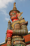 THE YAKSA GIANT GUARDIAN THAI 1 Royalty Free Stock Photography