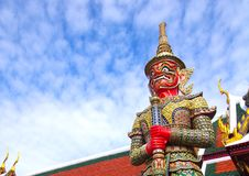 Yaksa Giant Thai Royalty Free Stock Image