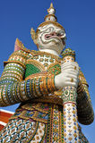 Yaksha guardian figure Stock Photo