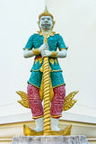 Yaksha guardian figure Stock Photography