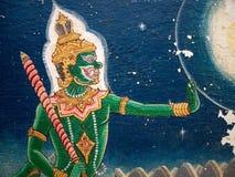 Yaksha Malerei Stockfotografie
