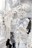 Yaksha ou gigante do mito Tailandês-budista, porteiro do inferno fotos de stock