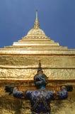 Yakskulpturen, Thailand stockbilder