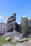 Yakub Kolas Pomnikowi Zdjęcia Stock