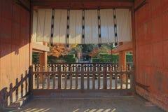 Yakushi ji Tempel in Nara, Unesco-de plaats van de werelderfenis stock foto's