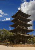 Yakushiji Tempel Stockbilder