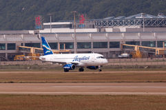 Yakutia flygbolag Arkivbild