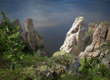 Yakutia, wild mountain landscape Stock Image