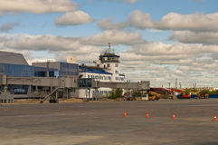 Yakutsk flygplats royaltyfri bild