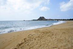 Yala的海滩 免版税库存图片
