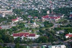 Yala city pillar, thailand Stock Images
