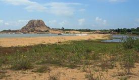 Yala National Park. Scenery of Yala national Park in Sri lanka Stock Photography