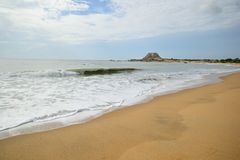 Yala National Park beach Royalty Free Stock Photos