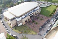 Yala Rajabhat大学会议厅  免版税图库摄影
