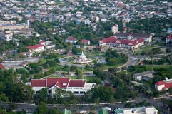 Yala Stadtsäule, Thailand Stockbilder