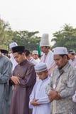 YALA, THAILAND - AUGUST 8 : Tall Style Arab Hat wear by thai Mus Stock Photos