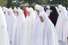 YALA, THAILAND - AUGUST 8 : Thai Musim female dress in hijab and Stock Photography