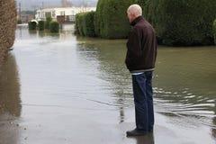 Yalding flod Royaltyfri Bild