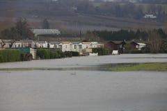 Yalding Flood. Ing in Kent England United Kingdom  31st January 2014 Royalty Free Stock Photos