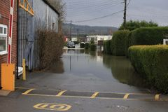 Yalding Flood Stock Photo