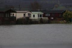 Yalding Flood. Ing in Kent England United Kingdom  31st January 2014 Royalty Free Stock Image