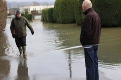 Yalding Flood Stock Photo