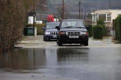 Yalding Flood. Ing  in Kent England United Kingdom  31st January 2014 Stock Photography