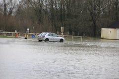 Yalding Flood. Ing in Kent England United Kingdom  31st January 2014 Royalty Free Stock Images
