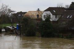 Yalding Flood. Ing in Kent 31st January 2014 Royalty Free Stock Photography