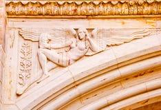 Yale för stenängelbåge universitetar Royaltyfri Foto