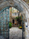 Yale Gates royalty free stock image