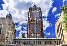 Yale University Buildings New Haven Connecticut Fotografering för Bildbyråer