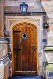 Yale University Doorway Wooden Door Royalty Free Stock Photo