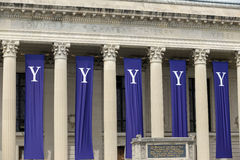 Yale University graduation ceremonies. On Commencement Day on May 18, 2015 Royalty Free Stock Photos