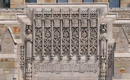 Yale University history Royalty Free Stock Photos