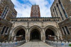 Yale University i New Haven Connecticut Royaltyfria Bilder