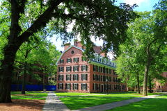 Yale University Residence Hall Royalty Free Stock Image