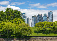 Yaletown, Ванкувер Стоковое Фото